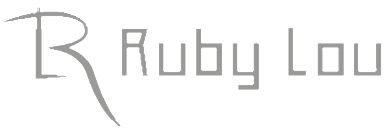 Logo, Ruby Lou - Hair Salon